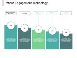 Patient Engagement Technology Ppt Powerpoint Presentation Portfolio Aids Cpb