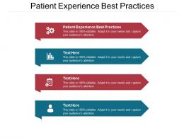 Patient Experience Best Practices Ppt Powerpoint Presentation Diagram Graph Charts Cpb