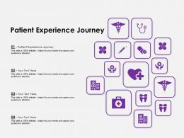 Patient Experience Journey Ppt Powerpoint Presentation Pictures Outfit