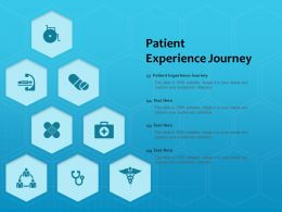 Patient Experience Journey Ppt Powerpoint Presentation Styles Display