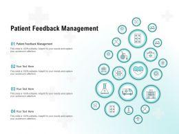 Patient Feedback Management Ppt Powerpoint Presentation Model Slides