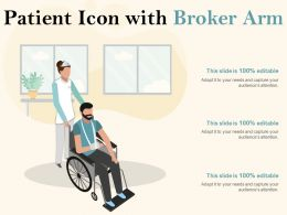 Patient Icon With Broker Arm