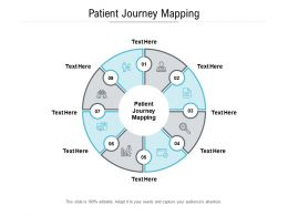 Patient Journey Mapping Ppt Powerpoint Presentation Summary Graphics Template Cpb