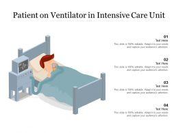 Patient On Ventilator In Intensive Care Unit