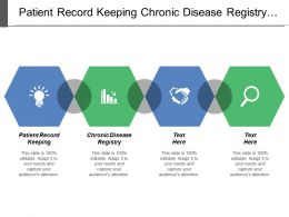 Patient Record Keeping Chronic Disease Registry Checklist Possible Goals