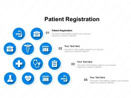 Patient Registration Ppt Powerpoint Presentation Styles Topics