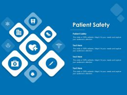 Patient Safety Ppt Powerpoint Presentation Ideas Samples