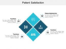 Patient Satisfaction Ppt Powerpoint Presentation Model Files Cpb