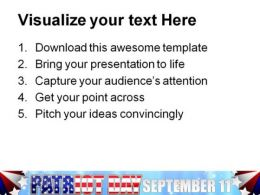 Patriot Day Americana PowerPoint Templates And PowerPoint Backgrounds 0611  Presentation Themes and Graphics Slide03