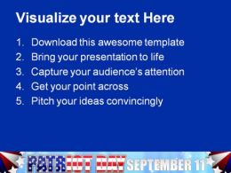 Patriot Day Americana PowerPoint Templates And PowerPoint Backgrounds 0611  Presentation Themes and Graphics Slide02