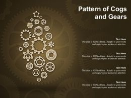 Pattern Of Cogs And Gears