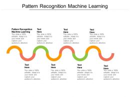 Pattern Recognition Machine Learning Ppt Powerpoint Presentation Icon Master Slide Cpb