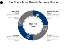Pay Check Taxes Remote Technical Support Health Insurance Cpb