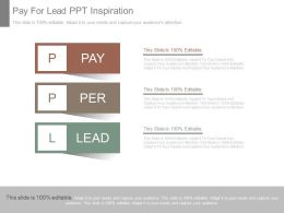 Pay For Lead Ppt Inspiration