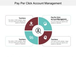 Pay Per Click Account Management Ppt Powerpoint Presentation Infographic Template Inspiration Cpb