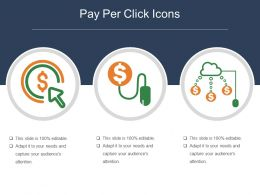 Pay Per Click Icons