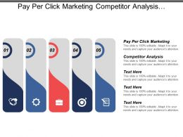 Pay Per Click Marketing Competitor Analysis Developing Marketing Plans