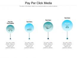 Pay Per Click Media Ppt Powerpoint Presentation Portfolio Icons Cpb