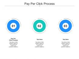 Pay Per Click Process Ppt Powerpoint Presentation Summary Example Cpb