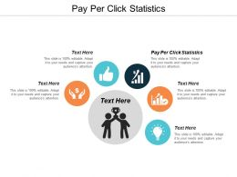 Pay Per Click Statistics Ppt Powerpoint Presentation Slides Examples Cpb