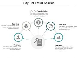 Pay Per Fraud Solution Ppt Powerpoint Presentation Pictures Master Slide Cpb
