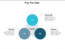 Pay Per Sale Ppt Powerpoint Presentation Gallery Ideas Cpb