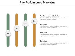 Pay Performance Marketing Ppt Powerpoint Presentation Gallery Tips Cpb