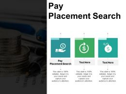 Pay Placement Search Ppt Powerpoint Presentation File Vector Cpb
