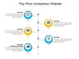 Pay Price Comparison Website Ppt Powerpoint Presentation Diagrams Cpb