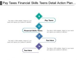 Pay Taxes Financial Skills Teens Detail Action Plan Corporate Objective