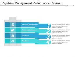 Payables Management Performance Review Software Development Business Opportunity Cpb