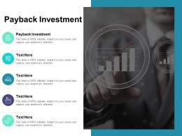 Payback Investment Ppt Powerpoint Presentation Model Picture Cpb