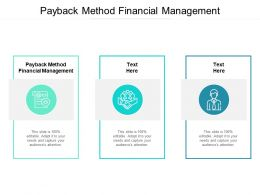 Payback Method Financial Management Ppt Powerpoint Maker Cpb