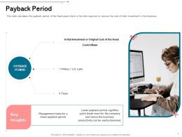 Payback Period Even Ppt Powerpoint Presentation Infographics Themes