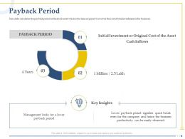 Payback Period Payback Investment Ppt Powerpoint Presentation Example File