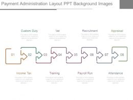 Payment Administration Layout Ppt Background Images