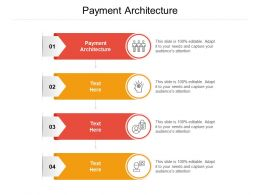 Payment Architecture Ppt Powerpoint Presentation Layouts Graphics Cpb