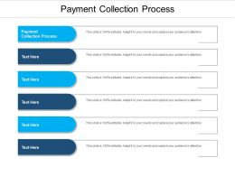 Payment Collection Process Ppt Powerpoint Presentation Styles Files Cpb