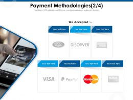 Payment Methodologies Accepted Ppt Powerpoint Presentation Infographic Template Gallery