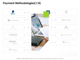 Payment Methodologies Paymente Business Management Ppt Clipart