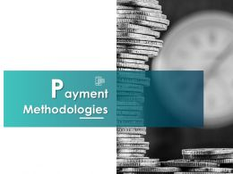 Payment Methodologies Ppt Powerpoint Presentation File Summary
