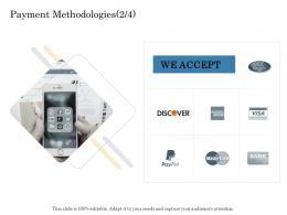Payment Methodologies S73 Online Trade Management Ppt Brochure