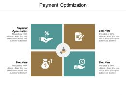 Payment Optimization Ppt Powerpoint Presentation Infographics Backgrounds Cpb