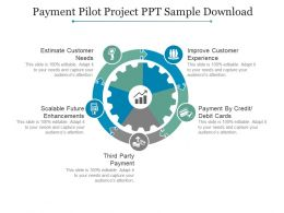 Payment Pilot Project Ppt Sample Download