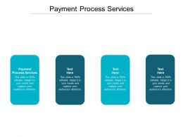 Payment Process Services Ppt Powerpoint Presentation Pictures Graphics Download Cpb
