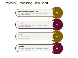 Payment Processing Flow Chart Ppt Powerpoint Presentation Model Deck Cpb