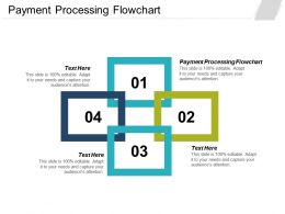 Payment Processing Flowchart Ppt Powerpoint Presentation Styles Format Cpb