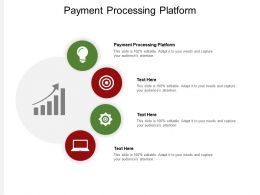 Payment Processing Platform Ppt Powerpoint Presentation Pictures Inspiration Cpb