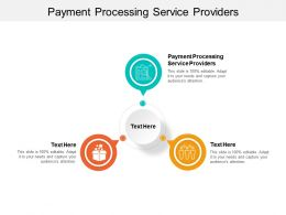 Payment Processing Service Providers Ppt Powerpoint Presentation File Show Cpb