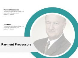 Payment Processors Ppt Powerpoint Presentation Model Infographic Template Cpb